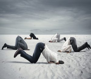 EasySales Kopf in den Sand